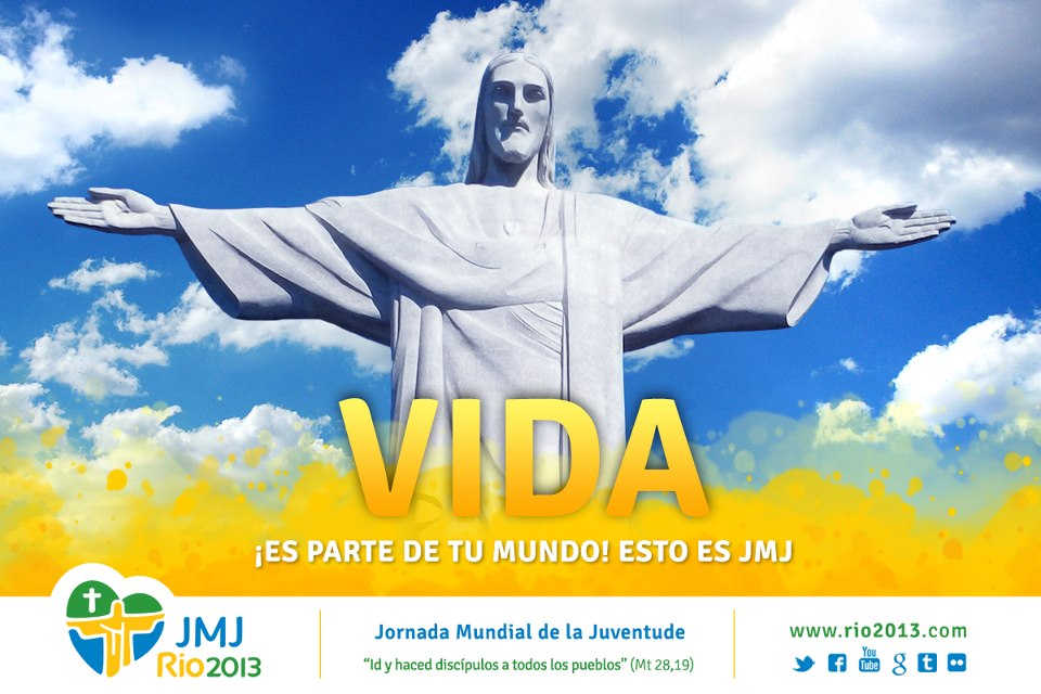 El peregrino pide a todos los lectores y peregrinos orar por esta hazaña para que muchos puedan llegar a compartir con el Papa Francisco en Río de Janeiro