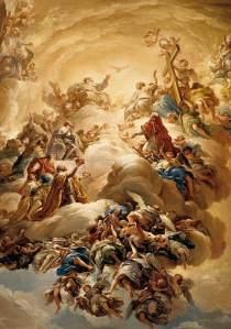 Adoración a la Santísima Trinidad